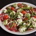 Salade ricotta et bresaola